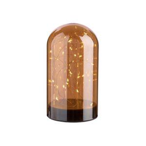 Glaskuppel LED, 18 cm